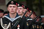 O Corpo de Fuzileiros Navais da Marinha russa