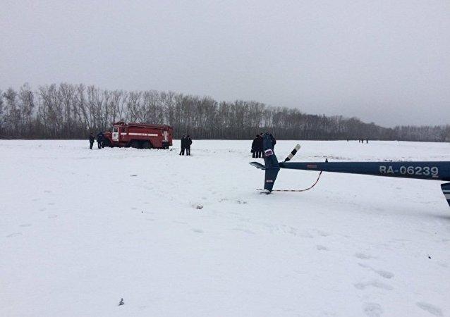 Helicóptero Robinson R66 que caiu na região de Tambov, Rússia