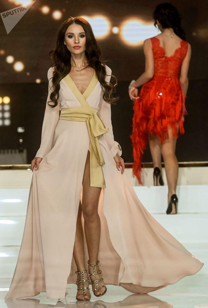 Participantes do concurso Miss Moscou 2017