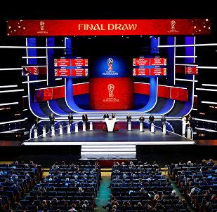 Sorteio da fase de grupos da Copa do Mundo Rússia 2018