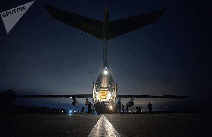 Treinamentos das Tropas Aerotransportadas russas